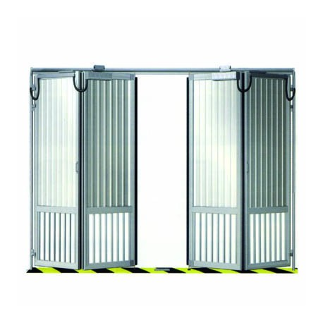Porte De Parking En Accord On Standard Quatre Vantaux 4000x2200 Mm Diffam