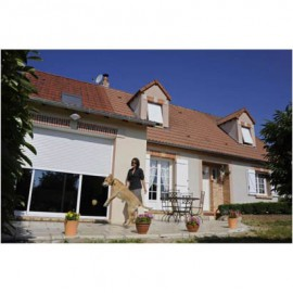 FRANCE FERMETURES Volets roulants traditionnel aluminium filaire 2000x2200