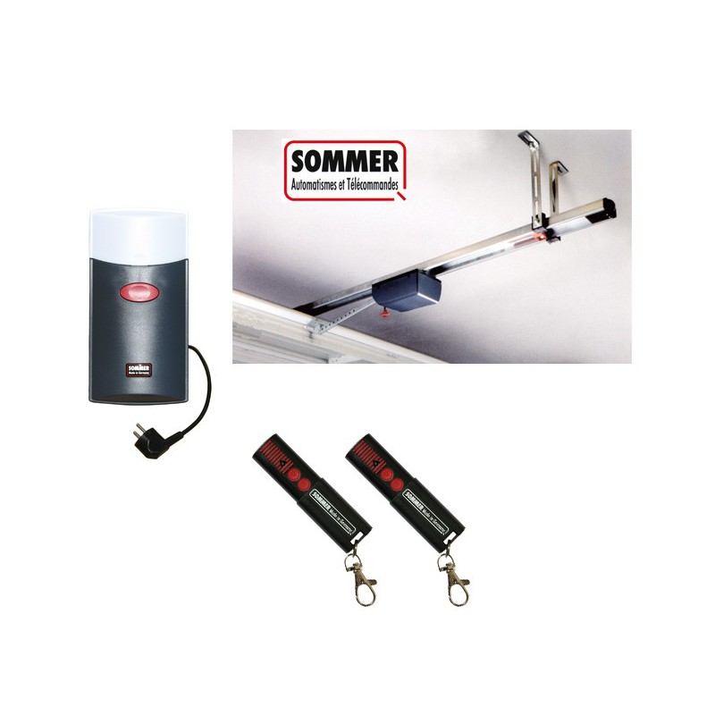 Sommer kit duo vision 500 sl sans rail - Porte de garage sectionnelle en kit ...