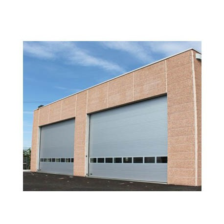 Porte sectionnelle industrielle 40 mm for Porte hangar