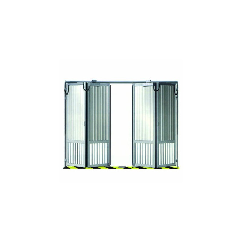 Porte de parking en accord on standard quatre vantaux 4000x2200 mm diffam - Porte a deux vantaux ...